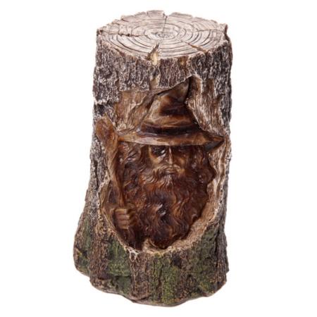 Deko-Baum mit leuchtendem Zauberer (LED)