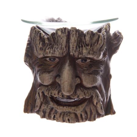 Duftlampe Baum mit Gesicht