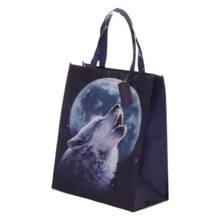 Einkaufstasche Wolf
