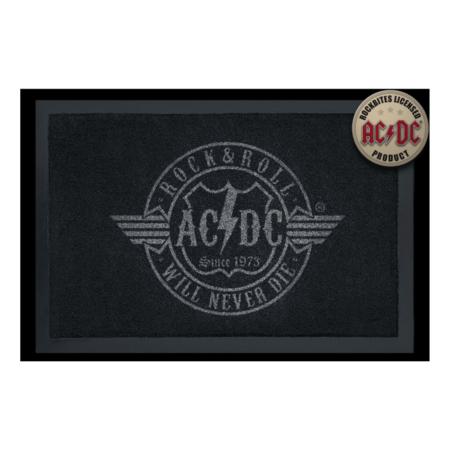 Fussmatte: AC/DC – Rock 'n' Roll Will Never Die