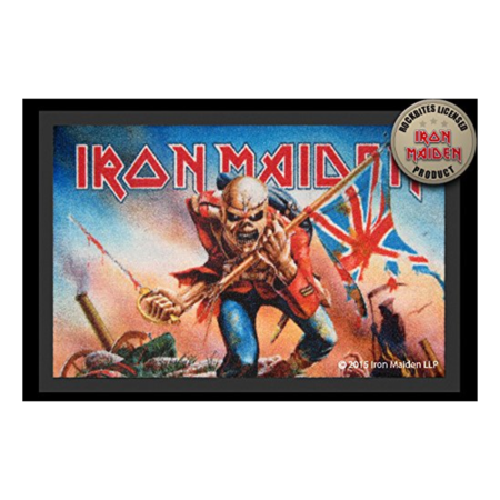 Fussmatte: Iron Maiden - Trooper
