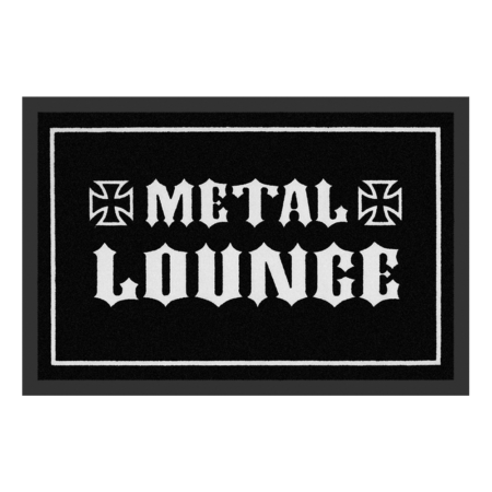 Fussmatte: Metal Lounge