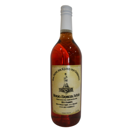 Honig-Erdbeer-Wein