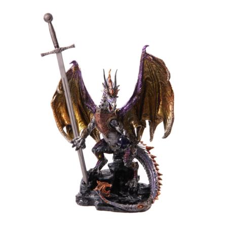 Drachen Beschützer mit Schwert