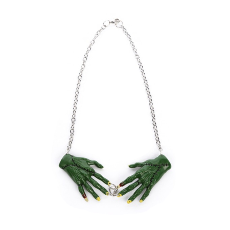 Frankenstein Halskette Zombie Hände