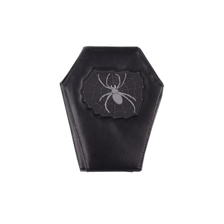 Geldbörse Sarg Spinnennetz