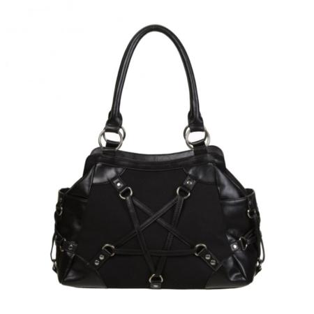 Handtasche Schultertasche mit Pentagram