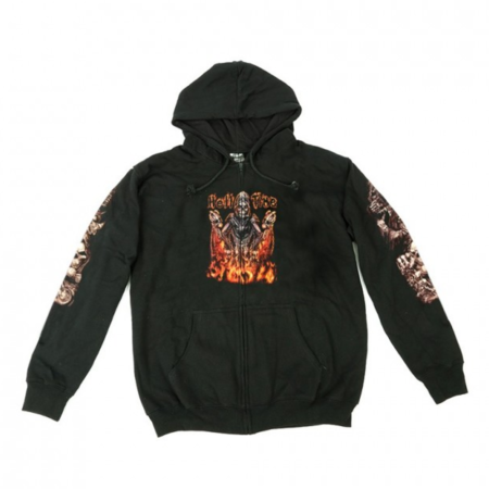 Hoodie Zipper Wild Hell Time GlowHoodie Zipper Wild Hell Time Glow
