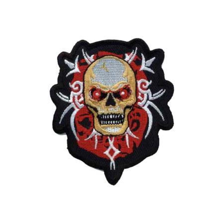 Patch Tribal Totenkopf