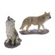 Wolf Steht und Heult auf Fels
